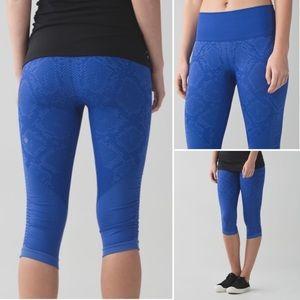 Lululemon In The Flow Crop II pants leggings 8